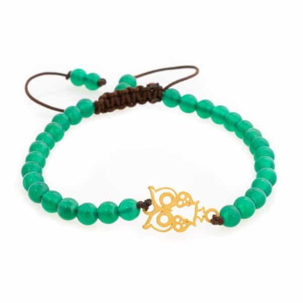 Bracelet with owl design