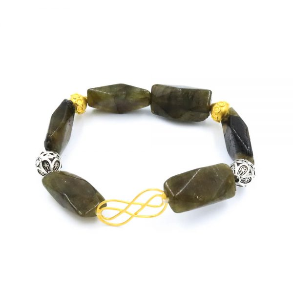 Jade bracelet and with Gold