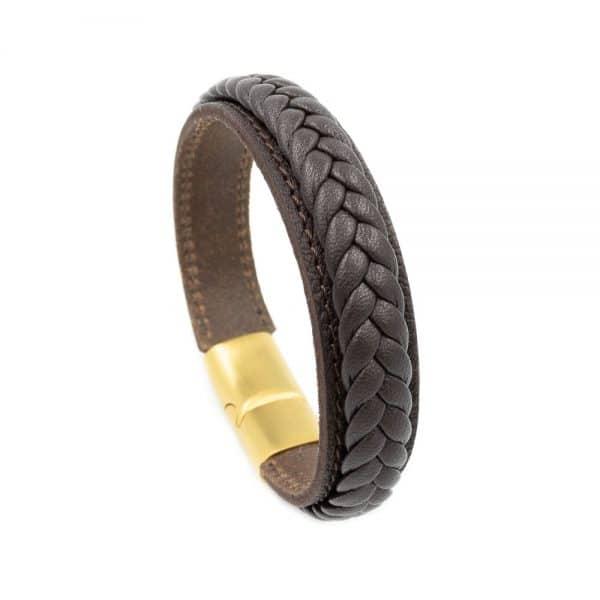 leather bracelet on simple strap