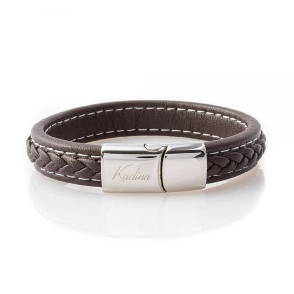 leather bracelets for the stylish gentleman