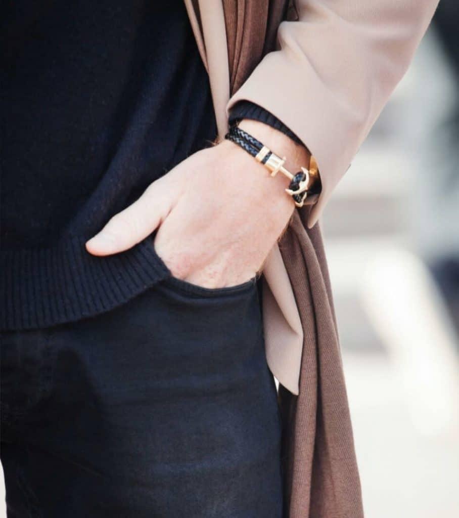 Leather bracelet for Office