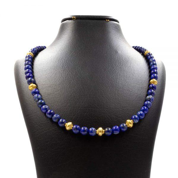 Necklace in Lapis lazuli Stones