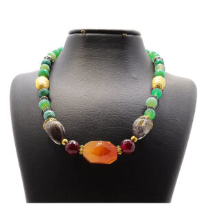 necklace in traditional design