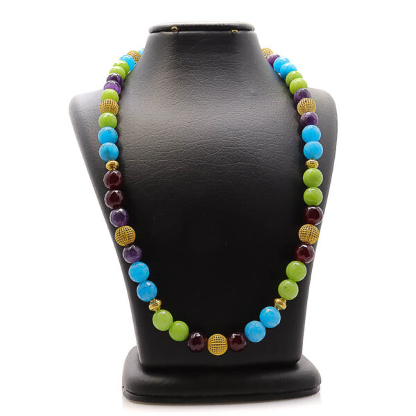 Colorful handmade necklace