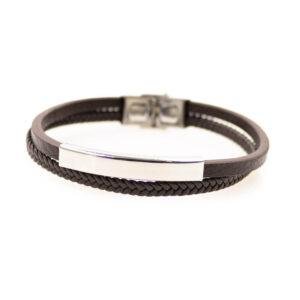 Narrow round bracelet